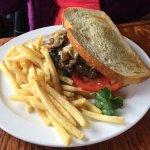 San Francisco burger on sourdough