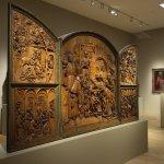 Museum Kunstpalast, spectacular wood carvings