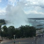 Horseshoe Falls (right side) from 9th floor