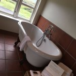 Clawfoot tub in the middle of our room - HEAVEN!!