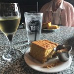 Great cornbread - goes well with Chardonnay