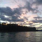 Kenai River at dawn.