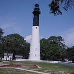 Picture of the Hunting Island Lighthouse. The lighthouse is open again so visitors can walk to t