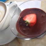 Chocolate Mousse & Coffee - lovely mousse, not very rich but certainly creamy