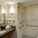 Accessible Bathroom (Roll-in Shower)