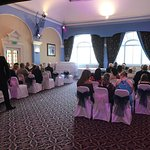 Wonderful wedding day at the castle hotel