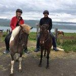 Pamela & Joe so enjoying the Icelandic countryside