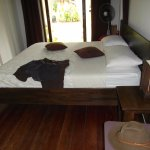 My bed at the wonderful Coconut Lane Villas!