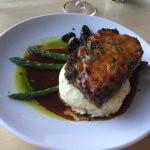 Meat Loaf with Cabernet Herb Gravy