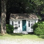 Our cottage at Addington's in 2011