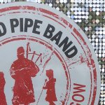 Pipe band logo
