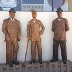 Statues of Solvang founders