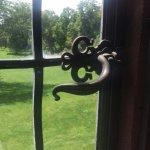 Artisan fixtures in every window