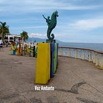 Photo of Puerto Vallarta's El Malecon Boardwalk