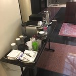 Complimentary Nespresso in the lobby