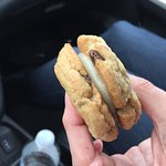 chocolate chip whoopee pie