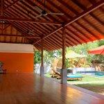 Yoga platform & pool