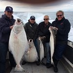 93 pound Halibut was the largest. What a day!!