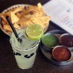 Margarita, Chips and Salsas