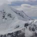 The Alaska range from our K2 plane. I am not sure which peak this is.