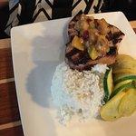 Grilled yellowfin Tuna