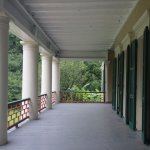 View of the porch.