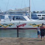 This is Tango. One of the catamarans used for the sail over to Anguilla.