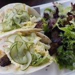Korean BBQ Hanger Steak Tacos