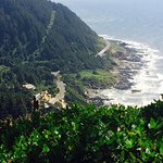 View from the Cape Perpetua Overlook