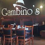 Interior of Gambino's