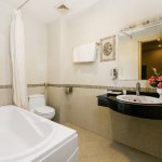 Bathroom in Superior room, Deluxe room and Family room