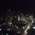 View of downtown Detroit from 30th floor