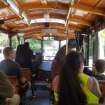 inside the haunted (and very hot) trolley