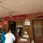 The Punjabi dhaba is a real treat with local food