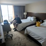 Our room in the Makai tower with 2 queen beds