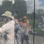 """Korean Memorial Wall """"Tim in Reflection"""""""