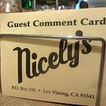 Nicely's, Lee Vining, Ca