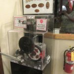 Stamped Coin Machine, Nicely's, Lee Vining, Ca