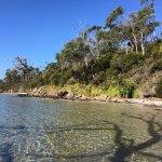 Small beach on Luggaboine Circuit