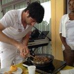 Cours de cuisine avant l'apéro, génial !