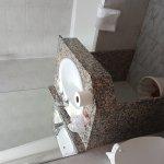 Dilapidated hotel