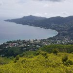 Overlooking Beau Vallon Bay