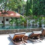 Vue de l'hôtel sun pool