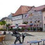 Hotel und Marktplatz