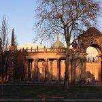 Schloss Sanssouci • Evening sun