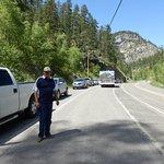 Memorial Day Traffic at Bridal Falls