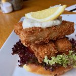 The Fish finger burger