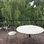 la charmante chambre Alienort avec sa grande terrasse
