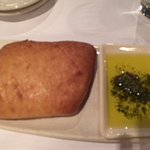 Complimentary Bread and dipping oil