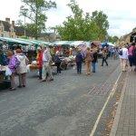 Market day in Morton
